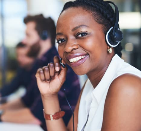 A customer service representative answers the phone. If you are looking solve your system's transit challenges and remove community barriers, contact MTM Transit! Learn how to find MTM Transit.